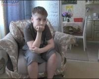 Из-за осколка петарды ослепнуть может 12-летний Кирилл Борчанинов из Павлодара
