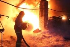 В Прииртышье произошел крупный пожар - сгорел цех по производству сыра