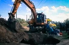 В Павлодарской области под обвалившимся грунтом задохнулся рабочий