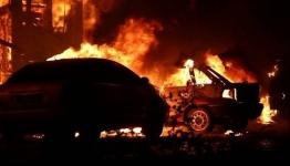 В Экибастузе в гараже сгорели две автомашины