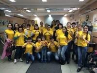 Волонтеры Beeline Казахстан провели эко-акцию в Ассоциации родителей детей-инвалидов