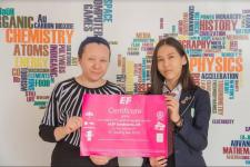 Павлодарская школьница выиграла поездку в Англию, став победителем международного проекта по английскому языку
