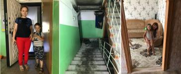 Павлодарские пожарные спасли двоих детей из задымленного подъезда
