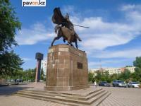 В Павлодаре приведут в порядок памятник Малайсары батыру