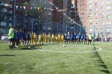 В Павлодаре открыто новое мини-футбольное поле