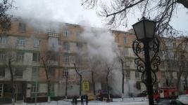 В Павлодаре сгорела фотостудия