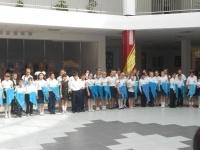 В члены организации «Жас Ұлан» приняты 120 павлодарских школьников