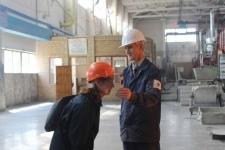 Павлодарский алюминиевый завод посетили с экскурсией студенты-экологи из Удмуртии