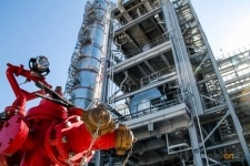 На ПНХЗ проводят обезвреживаниенефтесодержащих отходов янтарного уровня опасности
