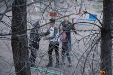 В Павлодаре жители города попытались отбить нарушителя у полиции