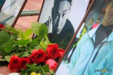 В Павлодаре простились с Денисом Теном