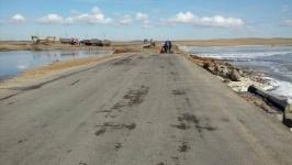 Размытый участок трассы Майкаин-Баянаул восстановили