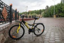 Павлодарские полицейские проверяют велосипеды на предмет угона