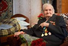 Столетие отпраздновала экибастузский ветеран Великой Отечественной войны