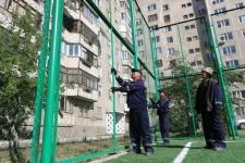 В Павлодаре проверяют безопасность детских и спортивных площадок