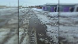 В частном секторе Павлодара дети не учатся из-за паводка