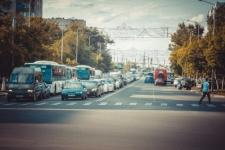 Вечерние пробки на хим-городках (Фото)
