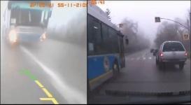 Водитель автобуса уволен за агрессивную езду в Алматы