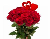 Полторы тысячи роз подарили женщинам Кенжекольского сельского округа