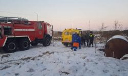 Павлодарские полицейские спасли мужчину из горящего дома