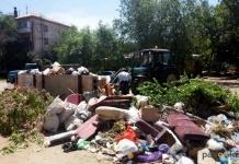 Ежедневно на павлодарский полигон вывозится около 200 тонн крупногабаритного мусора
