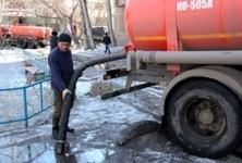 Откачка талых вод ведется в Павлодаре в круглосуточном режиме