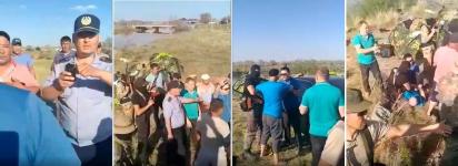 В Прииртышье произошел конфликт добытчиков золошлакового сырья с полицией