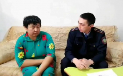 Бездомную женщину, живущую в колодце в Аксу, разыскали полицейские
