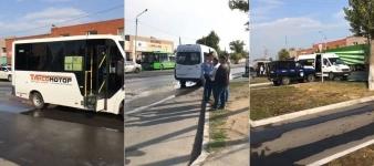 В Павлодаре маршрутку обстреляли из пневматики