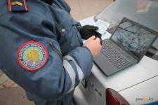 11 неоплаченных штрафов обнаружили у павлодарца дорожные полицейские