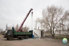 Незаконно установленные киоски сносят в Павлодаре