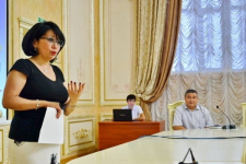 В Павлодаре подчиненных Даулета Ергожина учили хорошим манерам
