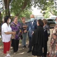 Аким города встретился с жителями Второго Павлодара