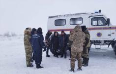 Спасатели Павлодарской области нашли заблудившихся из-за бурана сельчан