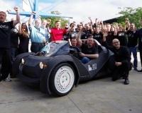 В США впервые распечатали автомобиль на 3D-принтере (видео)