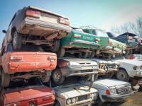 В Павлодаре с начала кампании утилизировали 1461 автомашины