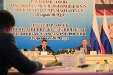 Открытие авиарейса Омск-Павлодар обсудили в областном центре