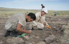 Павлодарские археологи начали исследование памятника «Калмак кырылган»