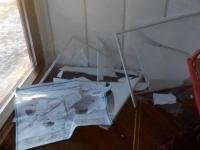 Теплая остановка в Астане подверглась нападению вандалов