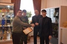 Павлодарца наградили за спасение людей при пожаре