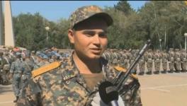 Молодые бойцы нацгвардии присягнули на верность Родине