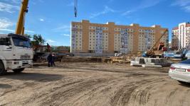 В микрорайоне Сарыарка началось строительство школы