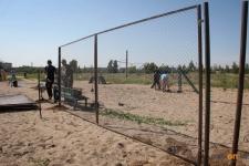 В Павлодаре на Химгородках начали строительство площадки для выгула собак