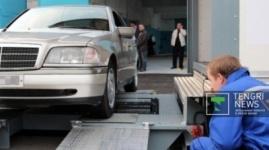 Техосмотр в Казахстане не смогли пройти более 193 тысяч авто в 2014 году