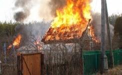 В Павлодаре на минувших выходных сгорели четыре дачи