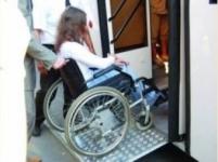 В Павлодаре половина всех автобусов приспособлена для перевозки инвалидов
