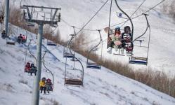 В Баянауле экстремалов ожидает сложная горнолыжная трасса