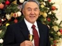 Назарбаев поздравил казахстанцев с наступающим Новым годом