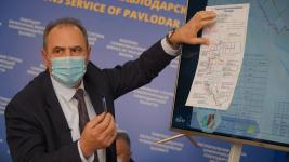 Власти Павлодара обратились к жителям города в связи со строительством новой теплосети