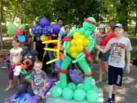 На центральной Набережной состоялся фестиваль воздушных шаров